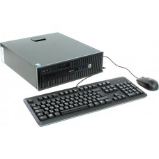 Персональный компютер HP EliteDesk 800 G1 SFF Core i5-4590, 4GB DDR3(1x4GB),1TB SATA HDD, DVD+/-RW,solenoid lock,keyboard,mouse,GigLAN, Win8 Pro 64 downgrade to Win7 Pro 64,MSOf 2013 trial (rlb)(repl F6X06ES)