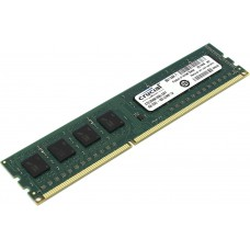 Оперативная память Crucial by Micron DDR-III 4GB (PC3-12800) 1600MHz CL11 (Retail) Single Ranked