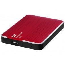 "Внешний жесткий диск USB Western Digital My Passport Ultra HDD EXT 2000Gb, 5400 rpm, USB 3.0, 2.5"" Red"