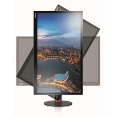 "Lenovo ThinkVision Monitor T2454p 24"" 16:10 IPS, LED 1920x1200 7ms 1000:1 300 178/178 VGA/N/HDMI1.4/DP1.2/Tilt, swivel, pivot , lift, USB 3.0 Hub"