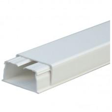 Кабель-канал 40х16мм, c центральной перегородкой, с крышкой, длина 2.10м, цвет белый (цена за 1 метр) LEGRAND 030021
