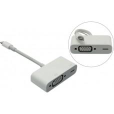 Адаптер-переходник  Apple Lightning to VGA Adapter MD825ZM/A для выведения картинки с iPad, iPhone или iPod на экран TV , монитора
