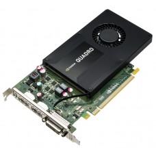Видеокарта VGA PNY NVIDIA Quadro K2200, 4Gb GDDR5/128-bit, PCI-Ex16 2.0, 1xDVI, 2xDP, 68W, ATX, 1-slot cooler, Retail