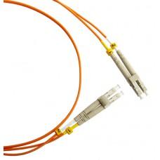 Патч-корд волоконно-оптический (шнур) MM 50/125, LC-LC, 2.0 мм, duplex, LSZH, 5 м (FC-D2-50-LC/PR-LC/PR-H-5M-LSZH-OR)